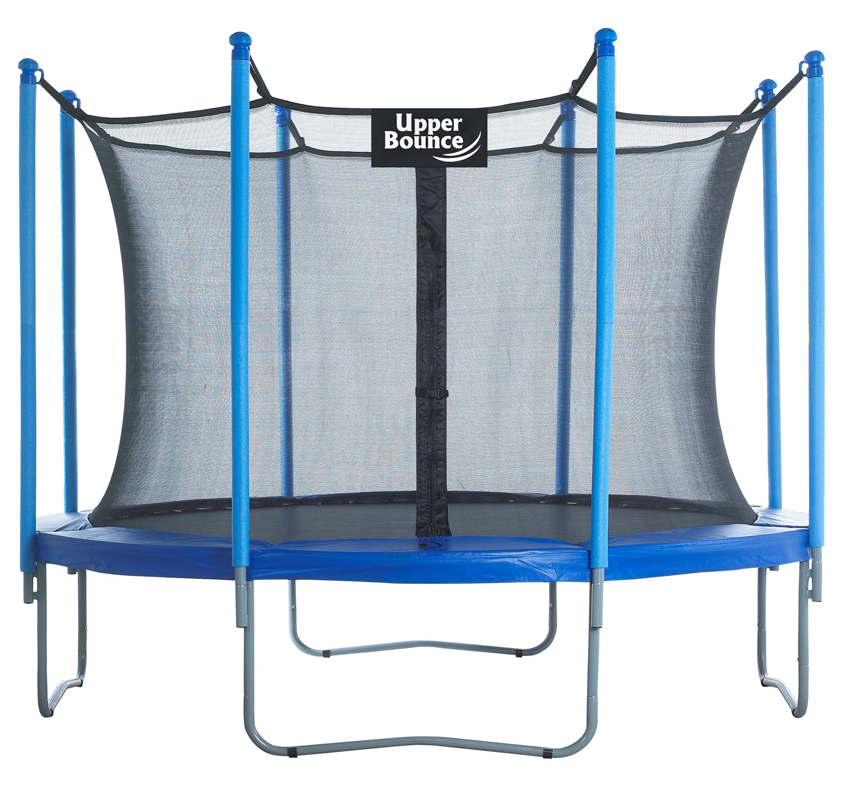 "10 FT. Trampoline & Enclosure Set equipped with the New ""EASY ASSEMBLE FEATURE"""
