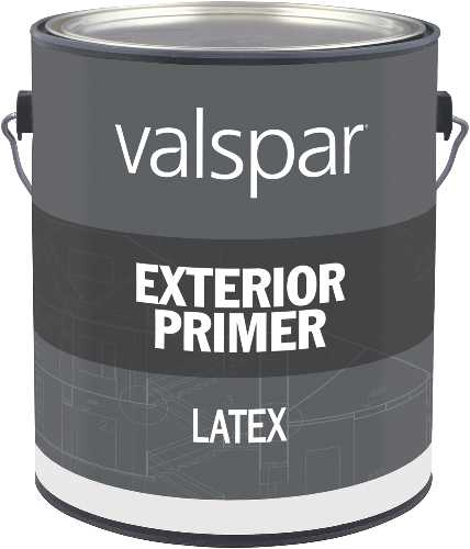 Only Exterior Latex Flat Primer Gallon 080047451522 11298 VALSPAR PAINT