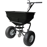 Vulcan YTL31515 Push Broadcast Spreader, 125 lb