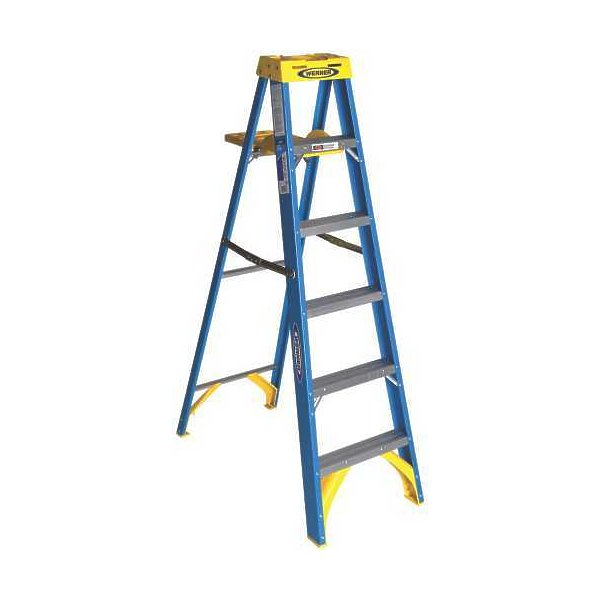 how to make an easel out of a step ladder
