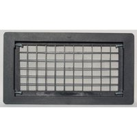 Bestvents 510BL Open Air Grille Foundation Vent, Black Oxide