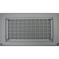 Bestvents 510WH Open Air Grille Foundation Vent, White