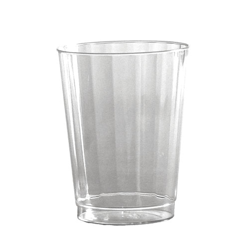9-oz Squat Classic Crystal Fluted Tumblers