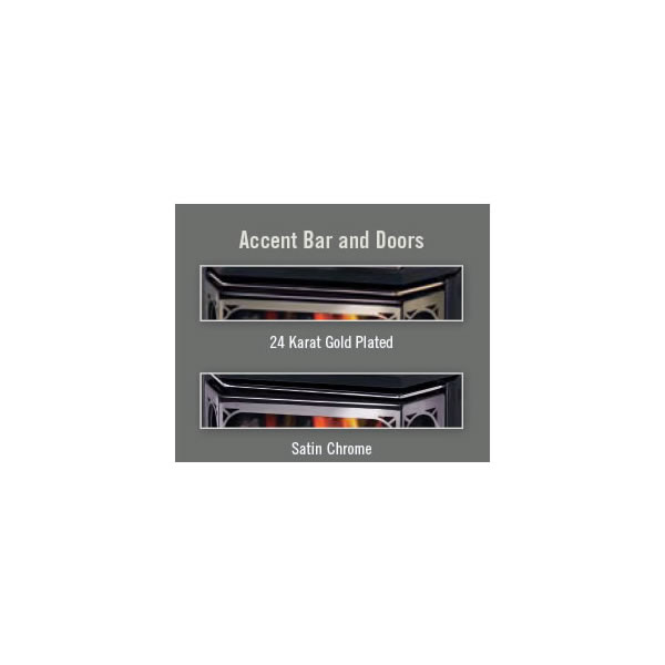 AR28G Accent Bar/Acrylic Trim Gold Plated (24 Karat)