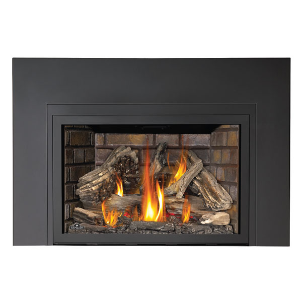 only xir4n 1sb napoleon large deluxe fireplace insert 629169047963 xir4n 1sb napoleon. Black Bedroom Furniture Sets. Home Design Ideas