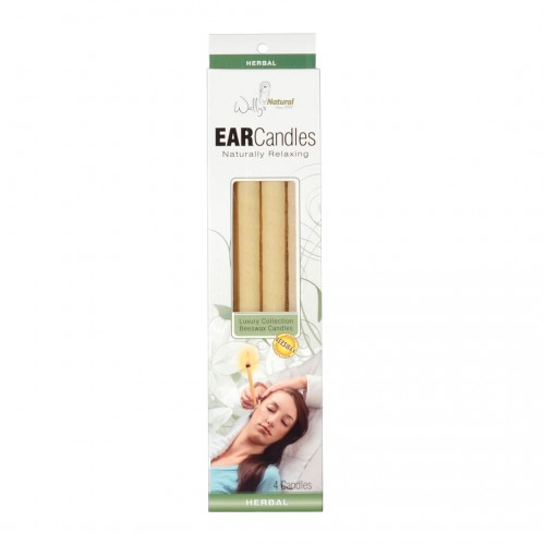 Wallys Natural Beeswax Ear Candles (1x4 PC  )