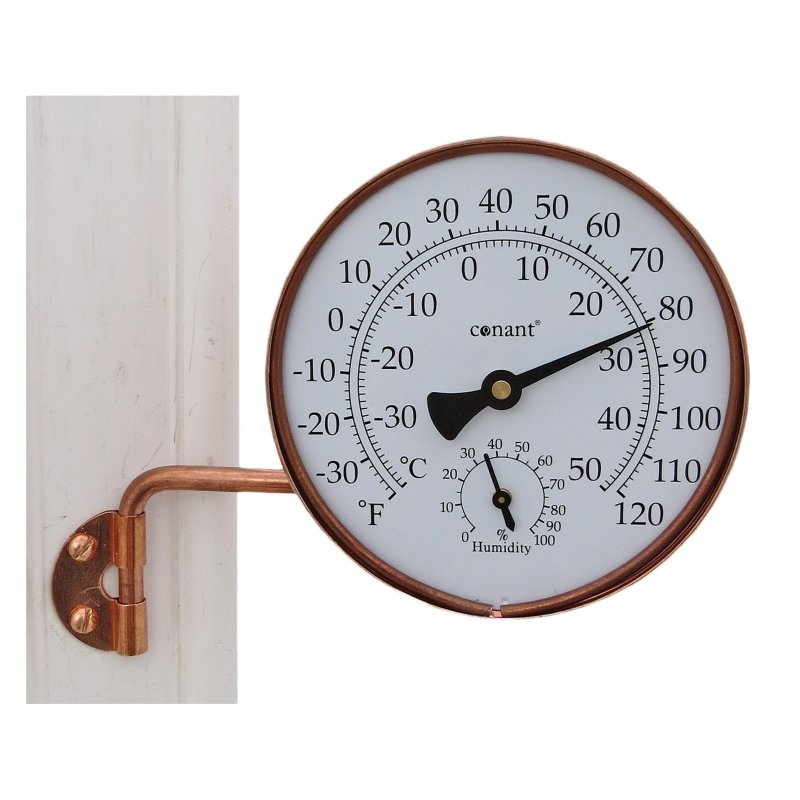Vermont Weather Station Living Finish Copper