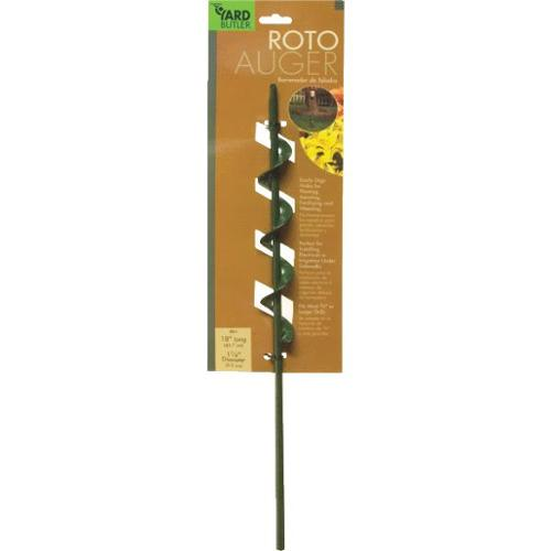 YARD BUTLER IREA4 ROTO EARTH AUGER DIGS HOLES UPTO 16 INCHES