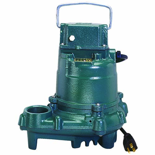 1/3HP 115 Volts Cast Iron N/AUTO Effluent Submersible Pump
