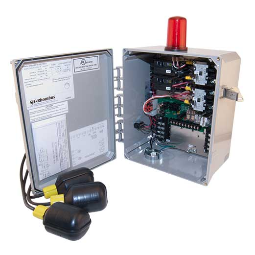 115/ 200 / 230 volts 1 pump housing dup control panel