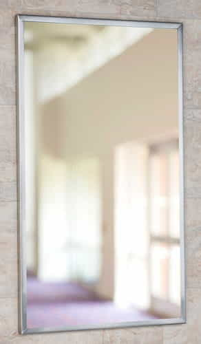 Only 24 inch x 30 inch channel framed mirror for 60 inch framed mirror