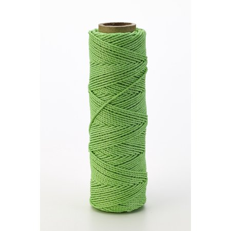 Nylon Mason Twine, 1/4 lb. Braided, 18 x 250 ft., Green (Pack of 6)