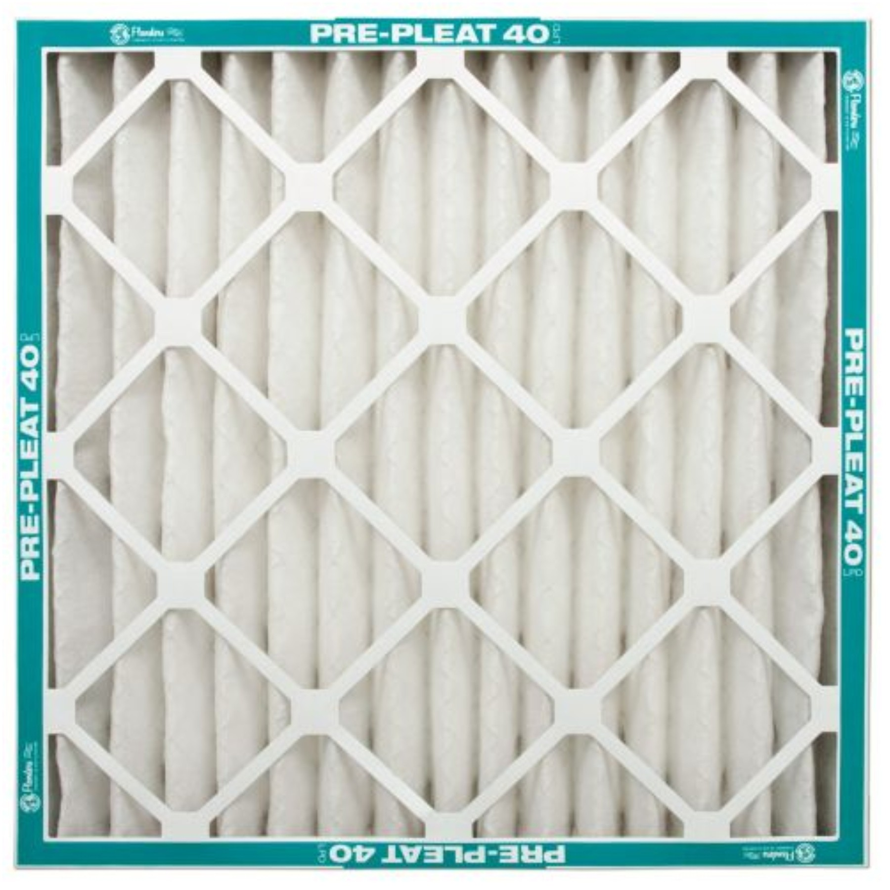 (Open Box)FLANDERS� MERV 8 PRE-PLEAT 40 LPD STANDARD-CAPACITY ECONOMY AIR FILTER, 14X14X1 IN.