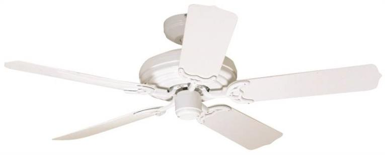 "(Open Box)52"" 5 Blade Outdoor Ceiling Fan, White"