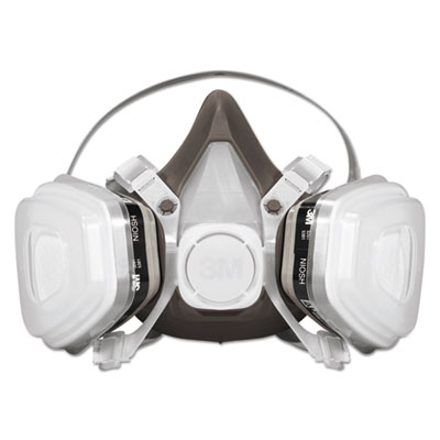 Half Facepiece Disposable Respirator Face Mask Assembly