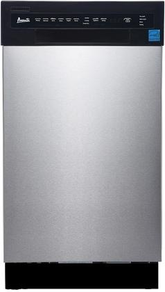 AVANTI DW1833D3SE STAINLESS STEEL 18 INCH BUILT IN DISHWASHER